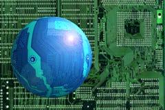 космос ландшафта Стоковая Фотография RF