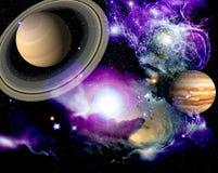 космос ландшафта Стоковые Изображения RF