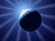 космос лучей Стоковые Фотографии RF