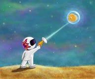 космос малыша Стоковое Фото