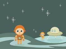 космос мальчиков Стоковые Изображения