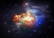 космос неба Стоковые Изображения