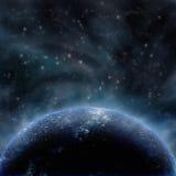 космос освещения Стоковая Фотография RF
