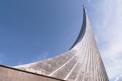 космос памятника завоевателей к Стоковая Фотография