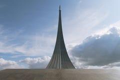 космос памятника завоевателей к Стоковое Фото