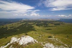 космос перспективности горы ландшафта стоковая фотография rf