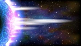 космос предпосылки ретро Стоковая Фотография RF