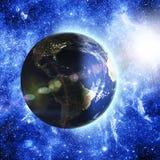 космос планеты земли Стоковая Фотография RF