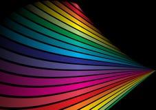 космос радуги путя Иллюстрация вектора