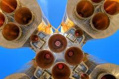 космос ракеты двигателя Стоковые Фото