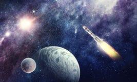 космос ракеты Мультимедиа иллюстрация штока