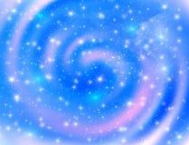 космос светов предпосылки накаляя Стоковые Фотографии RF