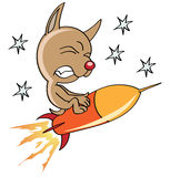 космос собаки Стоковое Фото