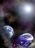 космос сценария Стоковая Фотография RF