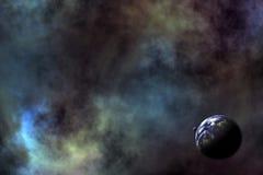 космос сценария ii стоковые фотографии rf
