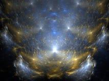 космос творения Стоковые Изображения RF