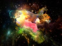 космос фактически Стоковое Изображение RF