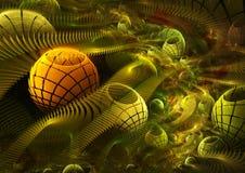 космос фрактали Стоковое фото RF