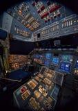 космос челнока Атлантиды Стоковое фото RF