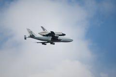 космос челнока предпринимательства Стоковое Фото