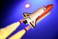 космос челнока Стоковое Изображение
