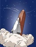 космос челнока иллюстрация вектора