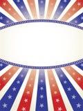 космос экземпляра предпосылки овальный патриотический Стоковые Изображения RF