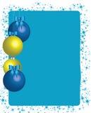 космос экземпляра рождества baubles Стоковое Изображение