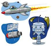 космос элементов Стоковые Изображения RF