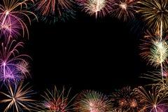 Космос для торжества текста Стоковое Фото
