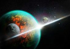 космос иллюстрация вектора