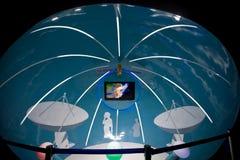 космос 2010 shanghai павильона экспо домашний стоковое изображение rf