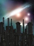 космос 4 Иллюстрация штока