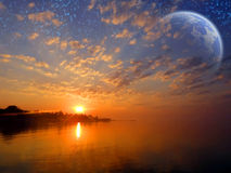 космос Стоковое Изображение RF