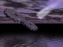 космос cogs Стоковые Фотографии RF
