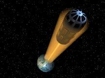 космос elevator2 Стоковая Фотография