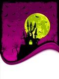 космос halloween экземпляра замока страшный Стоковые Изображения RF