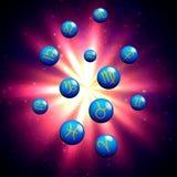 космофизики Стоковое Изображение RF