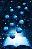 космофизики Иллюстрация вектора