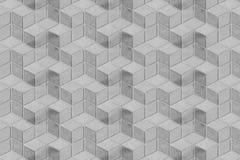 Косоугольник белой геометрической архитектуры симметричный или повторенные пеленкой обои текстуры предпосылки картины вертикальны Стоковое фото RF