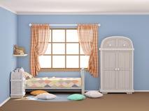Косоугольники комнаты ` s детей плоские Стоковое Изображение RF