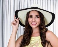 Костариканская женщина Стоковое фото RF