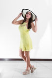 Костариканская женщина Стоковая Фотография RF