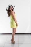 Костариканская женщина Стоковая Фотография