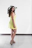Костариканская женщина Стоковые Фото