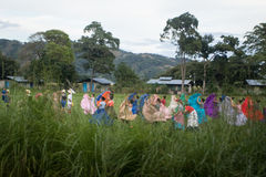 Костариканский традиционный танец Стоковое Фото
