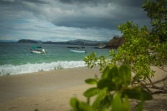 Костариканское побережь стоковые изображения