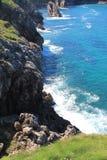 Коста de Llanes, Астурия, Испания Стоковые Фото