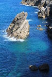 Коста de Llanes, Астурия, Испания Стоковое Фото