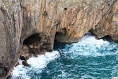 Коста de Llanes, Астурия, Испания Стоковые Фотографии RF